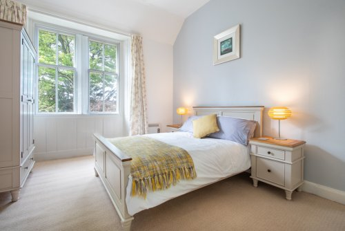 Double bedroom at Oakfield Cottage