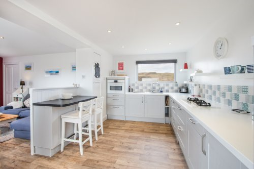 Modern fitted kitchen with all appliances for self-catering