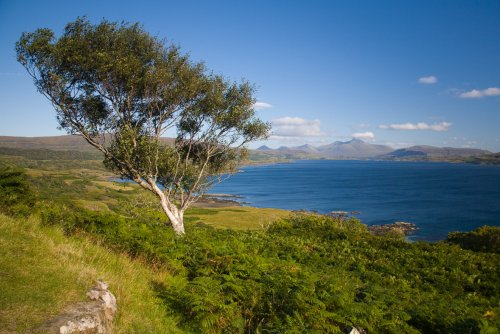 Beautiful west coast of the Isle of Mull