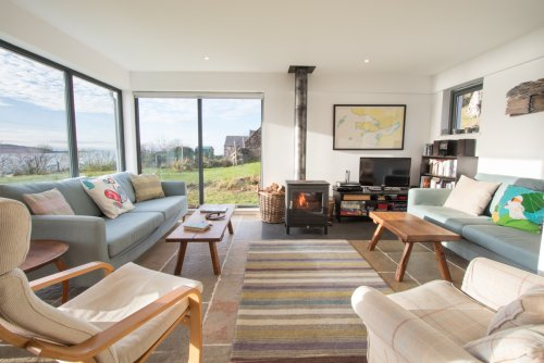 Living area in Snipe with wonderful views