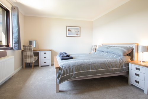 Double bedroom at Taigh Cian