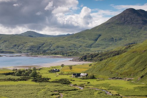 Laggan Farm and the Bothy's beautiful location