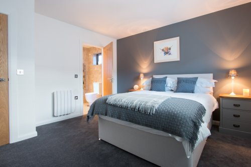 Double bedroom at The Old Coastguards