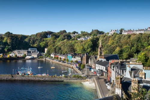 Visit Tobermory, a thirty minute drive from the cottage