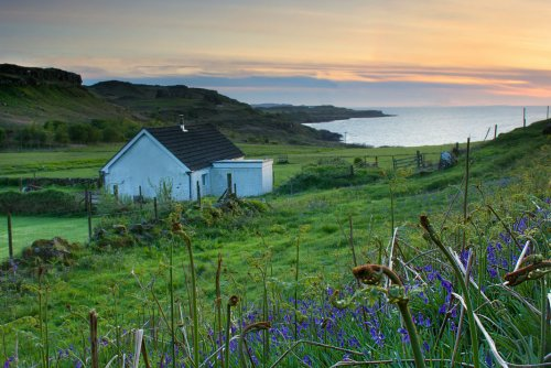 The Byre at sunset
