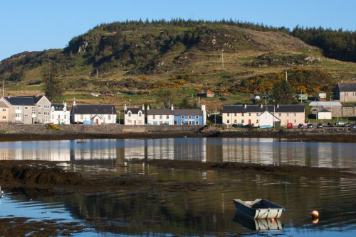 Bunessan village - a short drive from the house