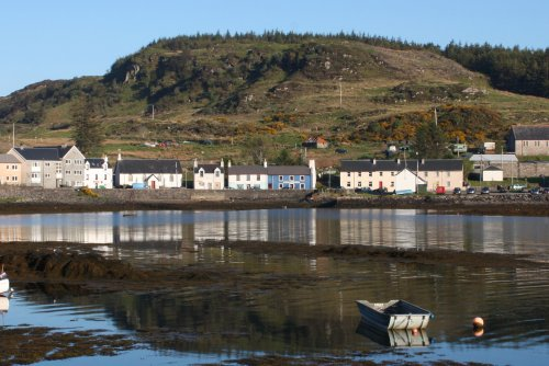 Bunessan village a short drive from the house