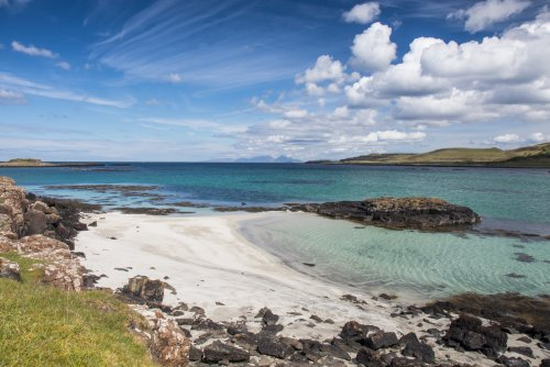 Some idyllic beaches in North Mull to explore