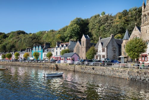 The pretty harbour town of Tobermory