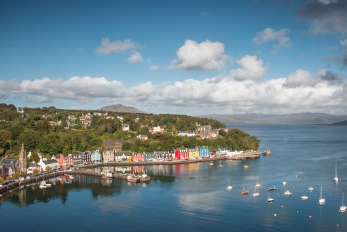 The main village on the Isle of Mull - Tobermory is a picturesque spot