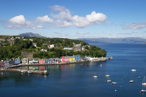 Tobermory is 7 miles from Dervaig