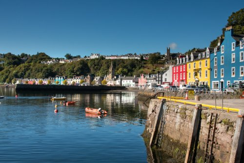 Tobermory and the painted buildings