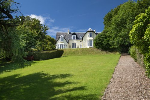Ulva House is a Victorian property set in extensive grounds